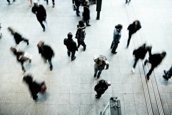 People flow and footfall counting